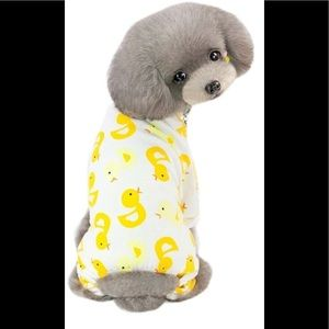 BOGO Free🌻Duck onsie pjs for small to medium dog